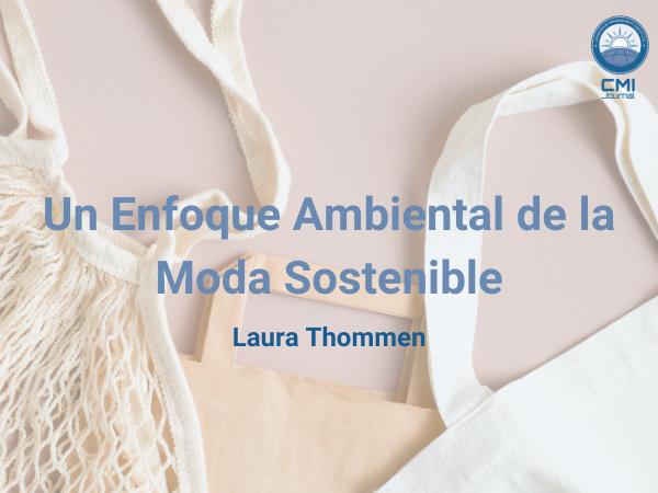"""Bolsas de algodón sostenible con la inscripción """"Un enfoque ambiental de la moda sostenible"""""""